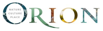Orion magazine logo